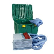 Oil Only Spillkit Box med hjul, avtagbart lock, 150L