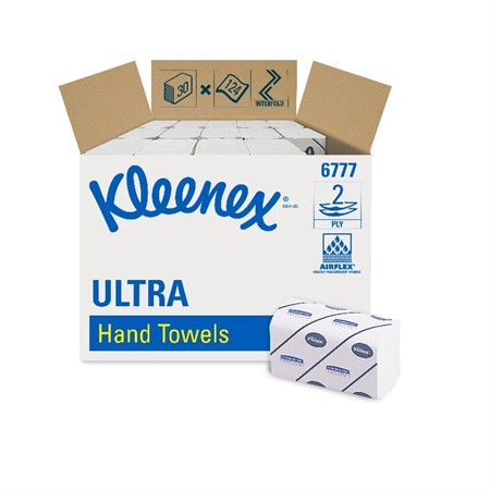 Pappershandduk Kleenex Ultra, Medium,  2-lg, 3720ark/frp