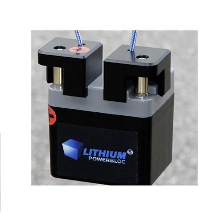 Li-Power Litium batteri LiFePO4, 13.2V - 3.3Ah, inkl. laddare 100-240V