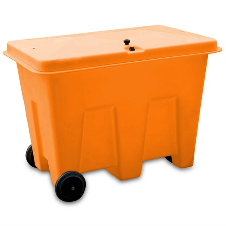 Box inkl hjul, 1265x855x910mm, Orange